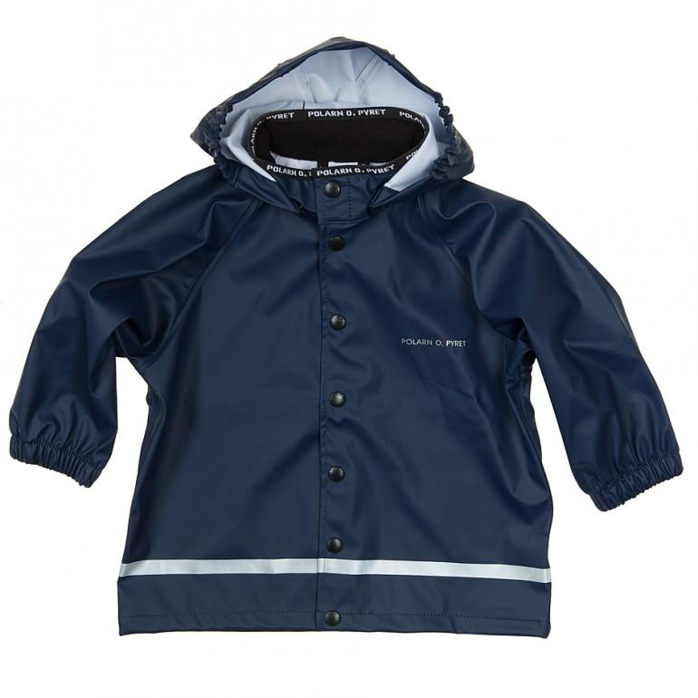 Hooded Kids Rain Jacket