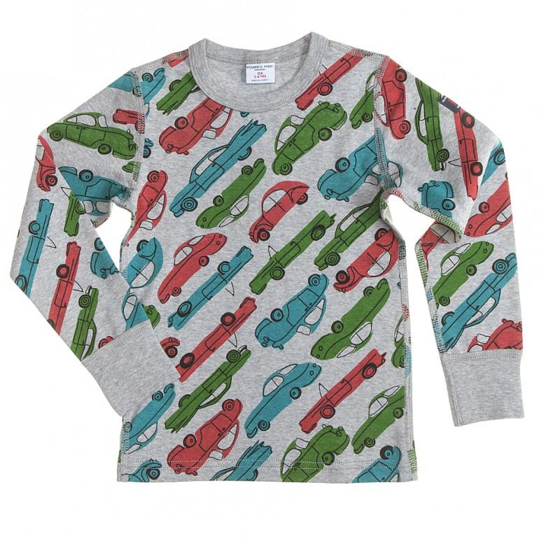 Kids Car Print Top