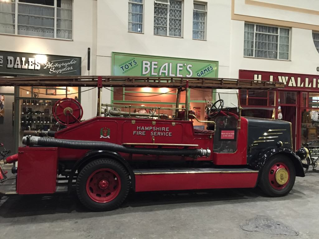 Milestones Fire Engine