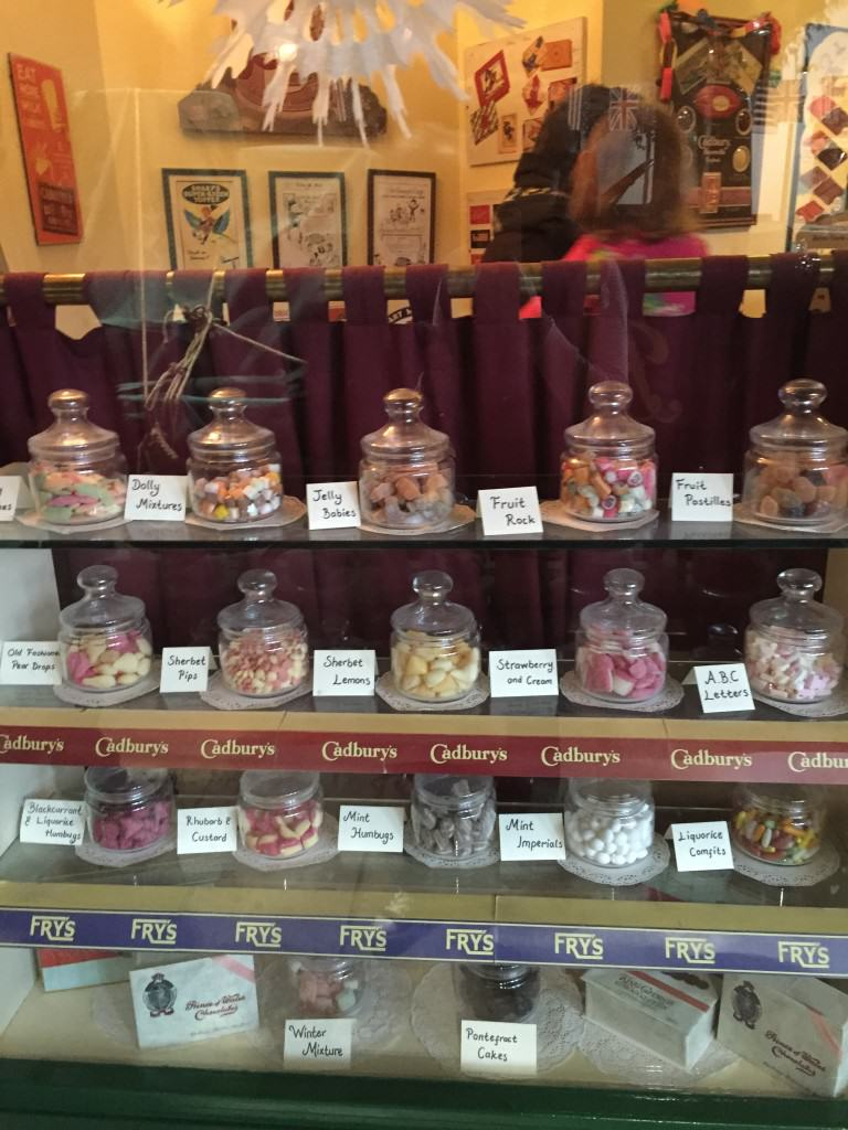 Milestones Sweet Shop Outside