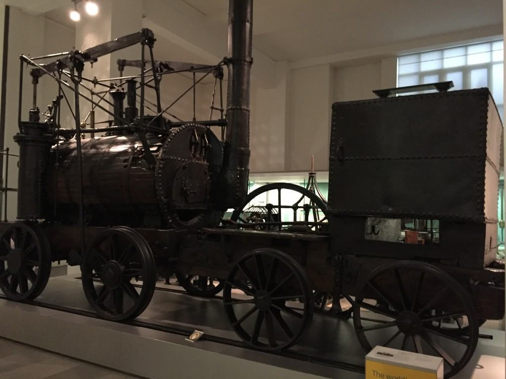 Science Museum Steam Engine